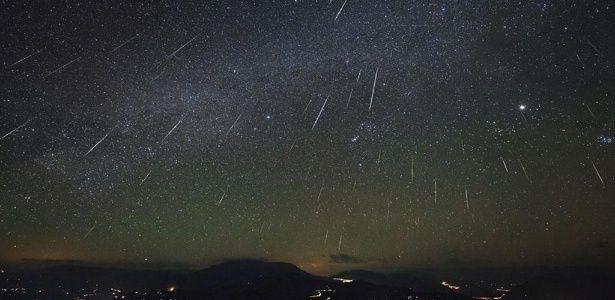 Chuva de meteoros originários do Halley ocorre nesta noite; saiba como ver