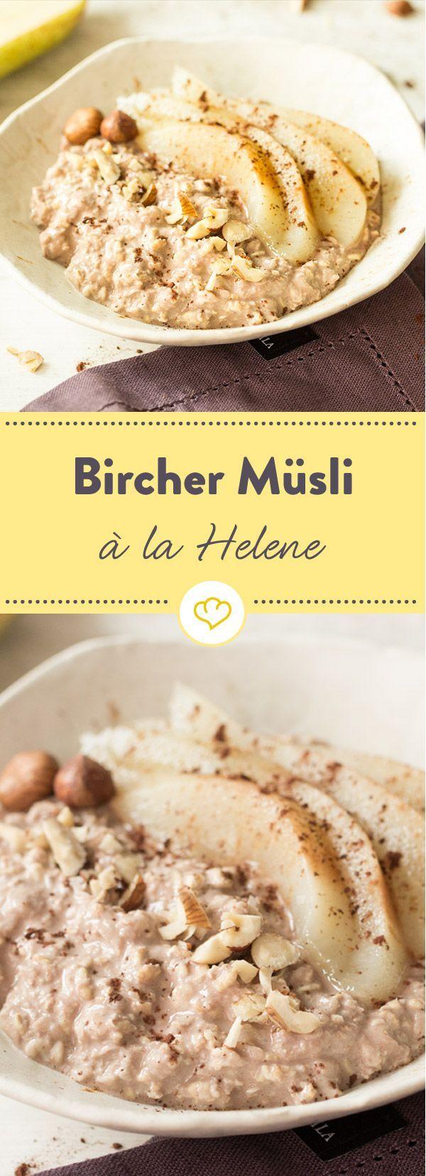 Grüezi und Bonjour! Bircher Müsli à la Helene – Julia Pixner