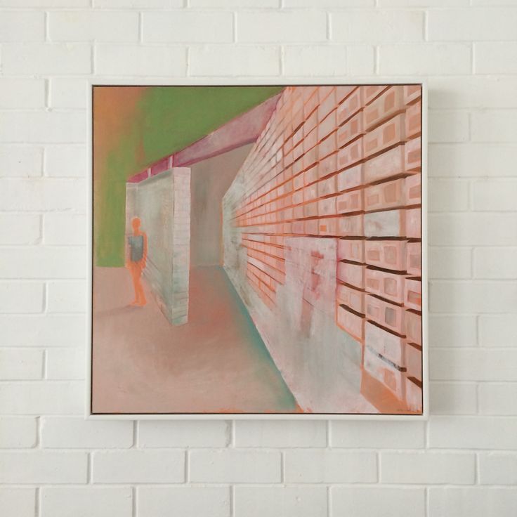 25 years on . . . following the art school Kate Small of 1989 posted earlier, here is Jones Reserve, 2014, from her current show