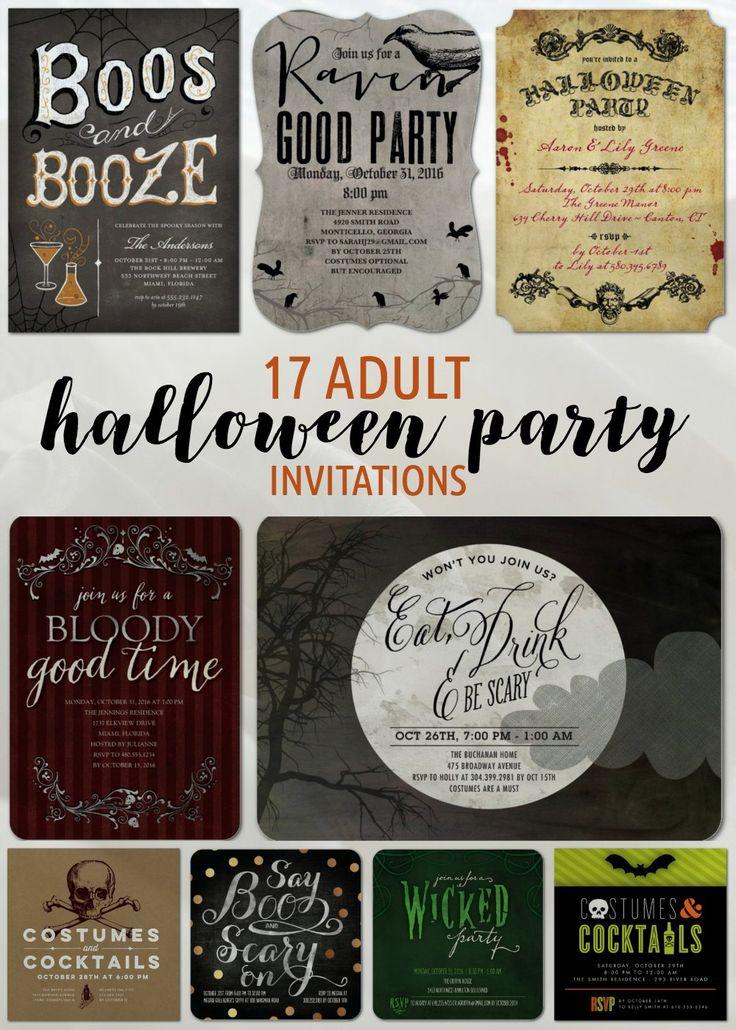 47 best adult halloween party ideas images on pinterest. Black Bedroom Furniture Sets. Home Design Ideas