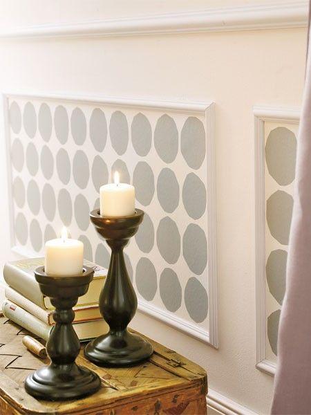 stuck deko dekorieren mit stuckleisten und co einrichten pinterest stuckleisten tapeten. Black Bedroom Furniture Sets. Home Design Ideas