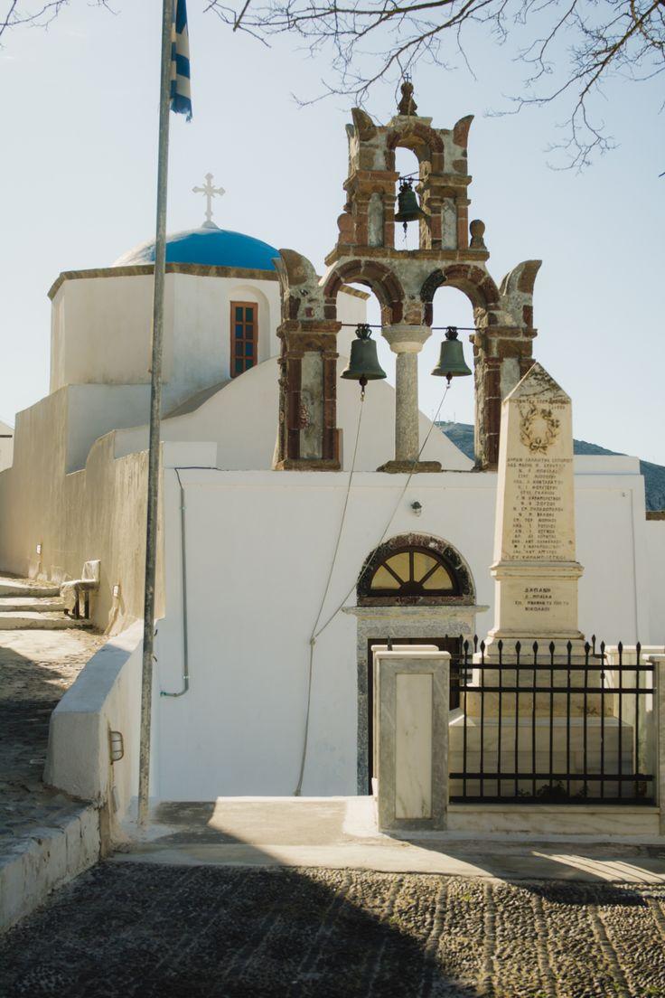 Pyrgos, Santorini village. #Santorini #greece #village #travel #explore #pyrgos