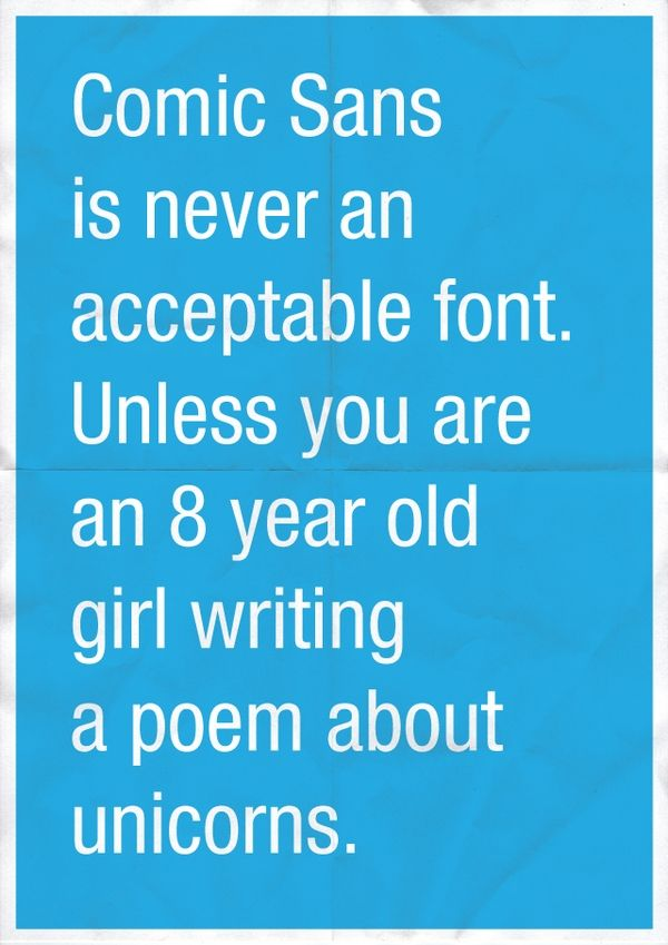 Free Fonts :)Comicsan, Comics San, Quotes, Funny, Graphics Design, Typography, Fonts, Unicorns, True Stories