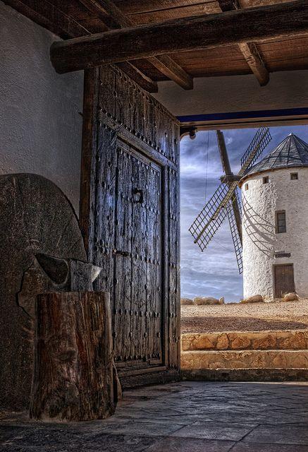 ~~windmill view ~ Campo de Criptana, Castille la Mancha, Spain by Zú Sánchez~~
