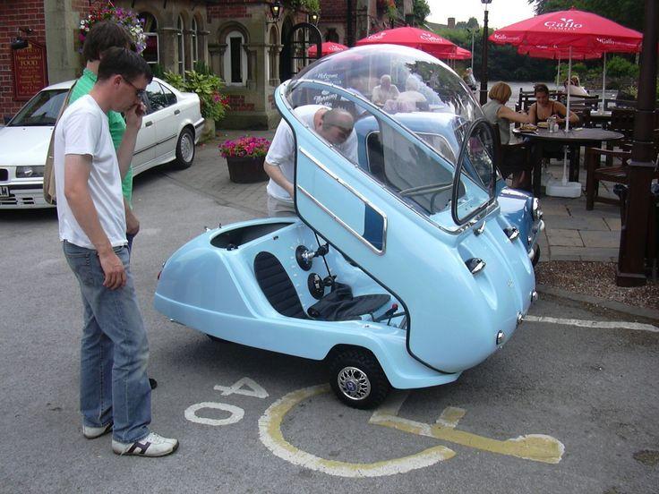 Vintage Peel Micro Car