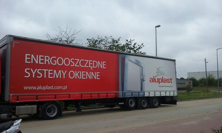#truck;#advertising; #aluplast;#windows;#cars