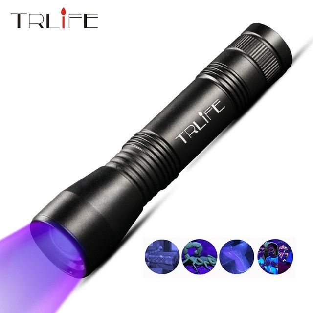 Zoomable Ultra Bright 2000LM Alloy Mini Penlight Flashlight LED Torch Outdoor FR