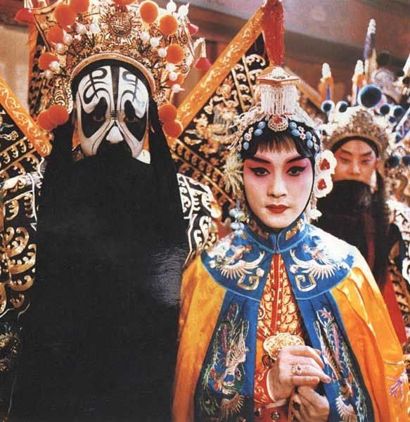 霸王别姬 farewell my concubine - Chinese Opera - amazing stage makeup .
