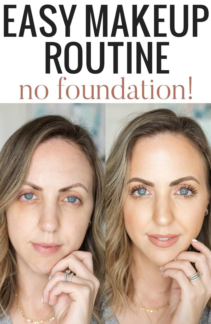Summer Foundation Routine Makeup tutorial eyeliner