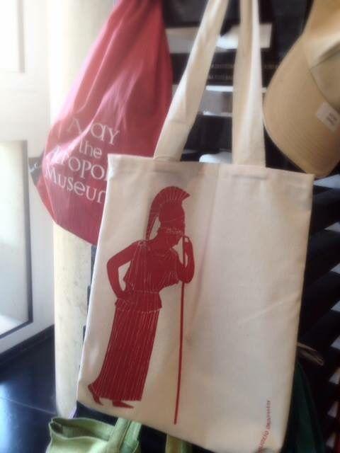 Tote bag for Acropolis Museum Shops!! Production & Patent : Prepack Design : Elena Zournatzi