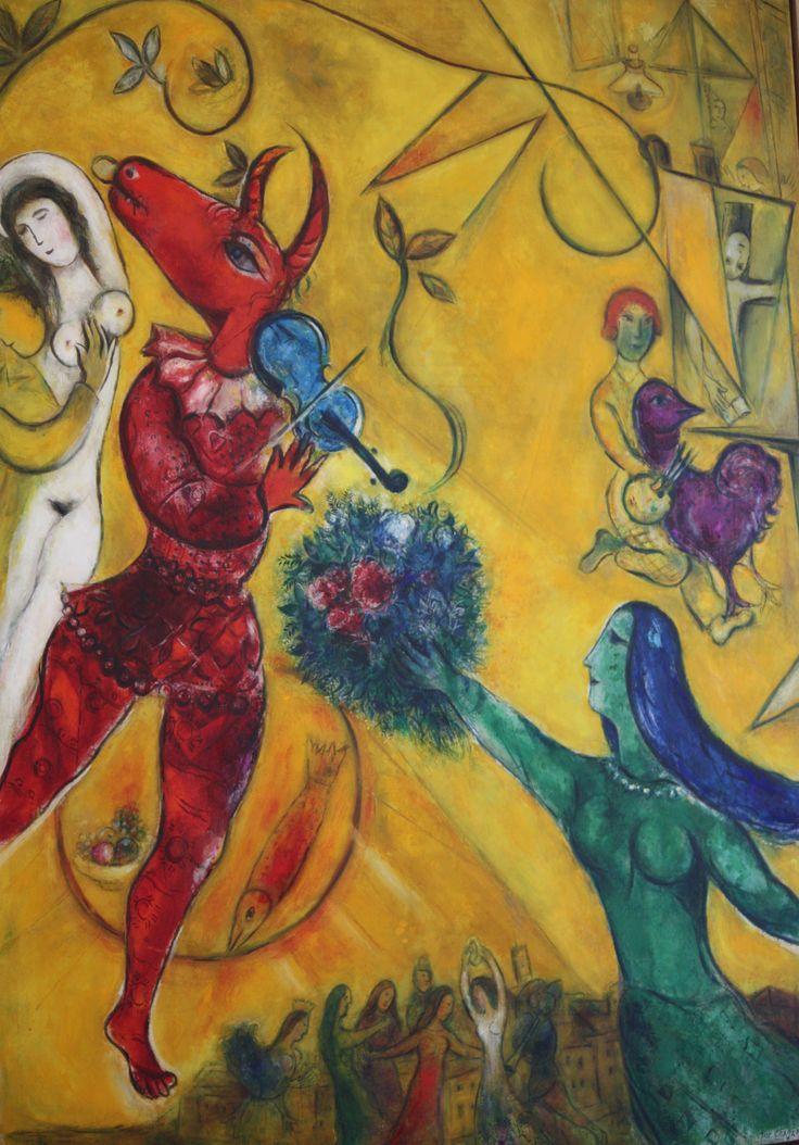 La danse   Marc Chagall   1950
