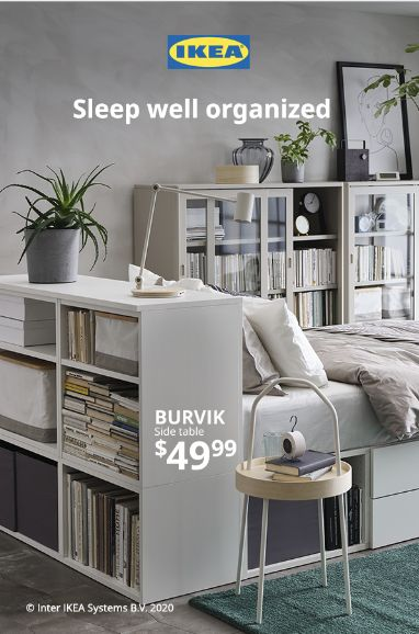 Make room for a good night's sleep with IKEA.