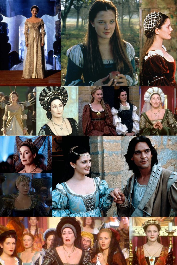The film's fashion reflects Italy's influence on early 16th Century France.