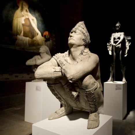 Prof. Lasak (Przemyslaw Lasak) is a sculptor originally hailing from Poland.