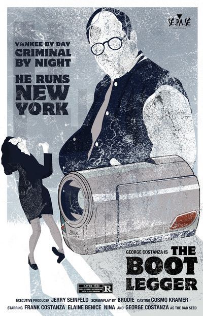 The Bootlegger - #seinfeld #movie #poster