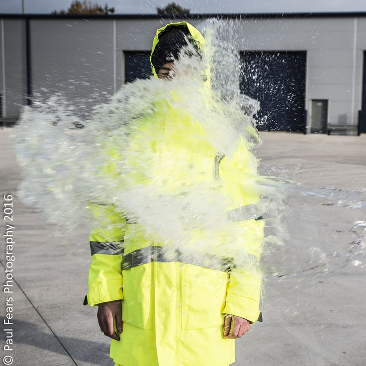 It was wet out there and Patrick was just pleased to be wearing #Waterproof #HiVis #PPE  http://pksafetyuk.com/product-category/clothing/clothing-protective/clothing-protective-weather/