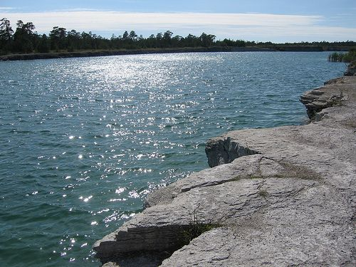 Blå lagunen, Gotland, Sweden