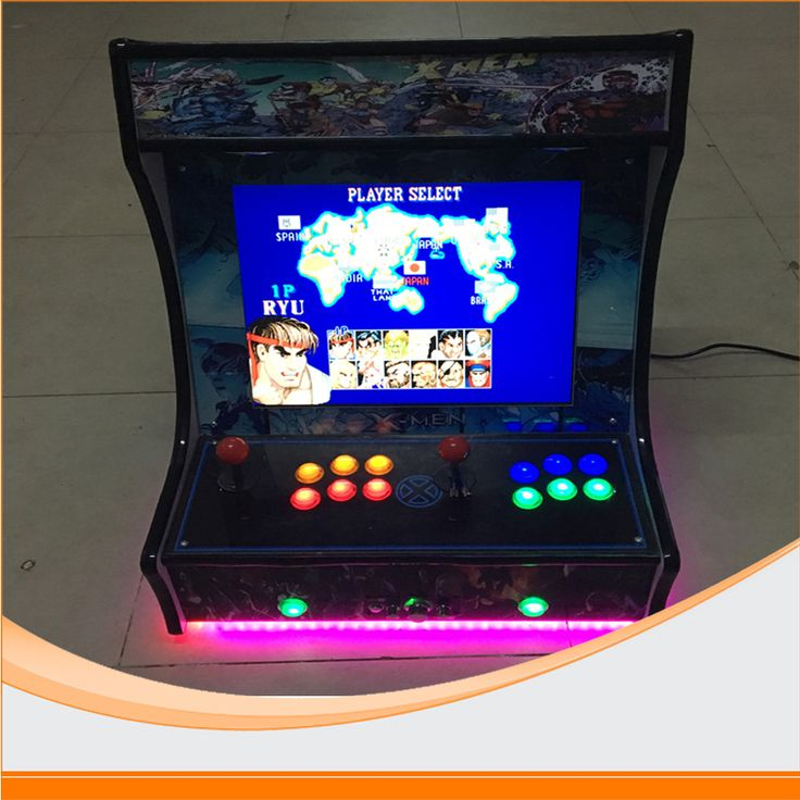 22 inch LCD coin-operated Mini Arcade Machine With Classical Game 645 In 1 PCB/With long shaft joystick and Illuminated button #Affiliate