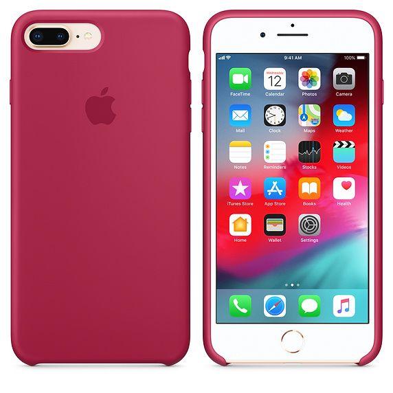 Zater Funda iPhone 7plus/8plus Carcasa Silicona Suave Colores del