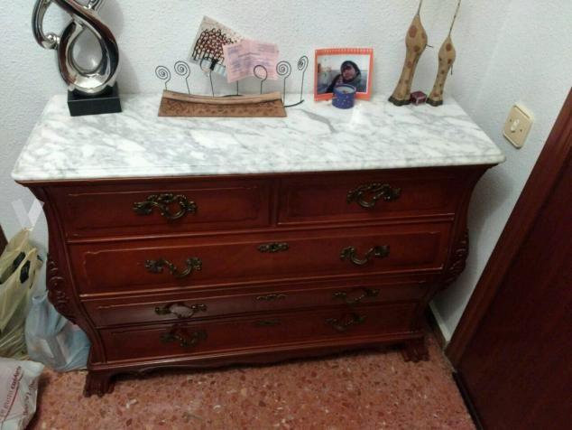 Aparador vintage para la entrada con marmol en val ncia vibbo 89461452 segunda mano - Aparador segunda mano ...