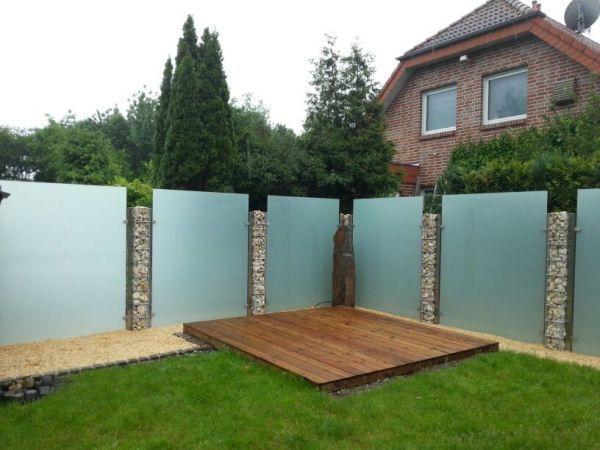 15 Terrasse Zaun Glas Landscaping Around Trees Outdoor Gardens Backyard