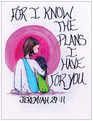 Porque yo sé los planes que tengo para ti... por Acrylics139