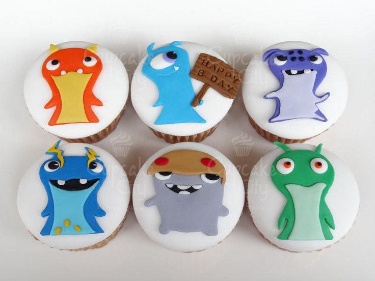 Slugterra Cupcakes - Cake by CupcakeCity