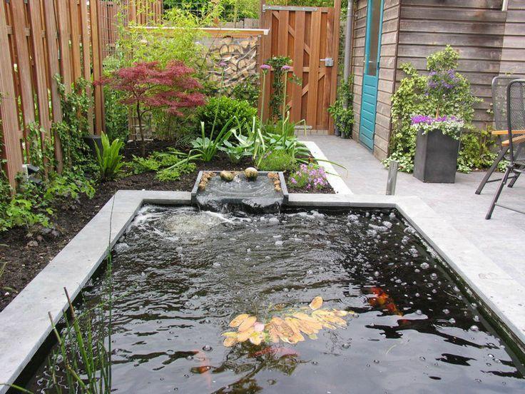 1000 images about tuinhuis op pinterest tuinen for Vijver voor kleine tuin