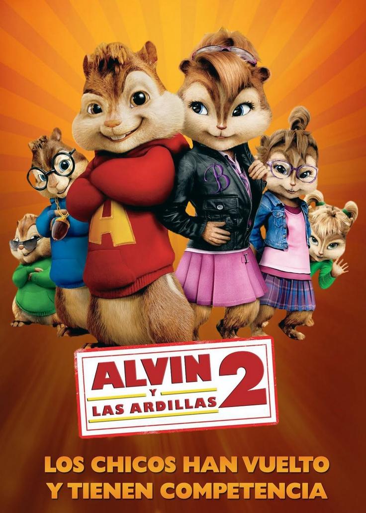 Alvin y las ardillas 2 | Movies | Pinterest