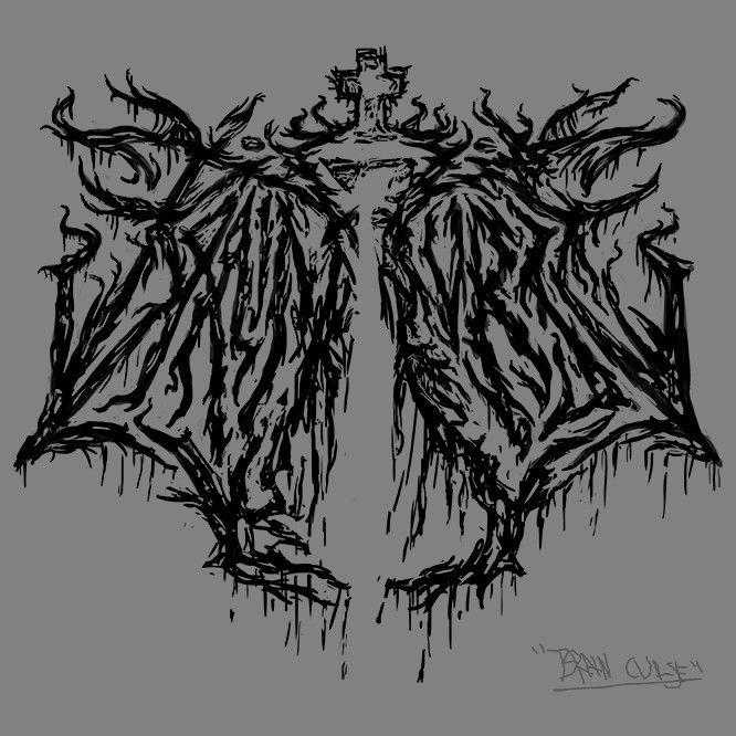 Fake band logo 2017 - Brain Curse
