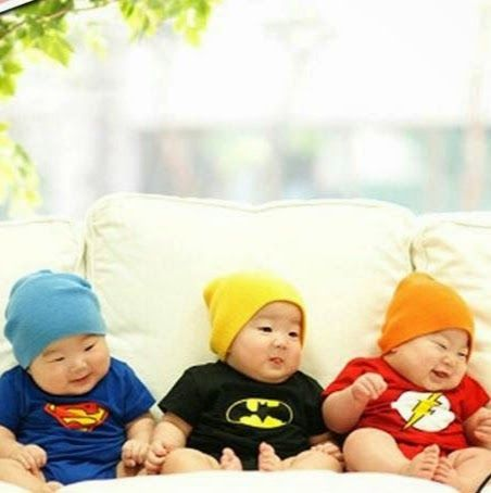 "Daehan, Minguk, Manse | who knew that they were this chubby?! ""Repinned by Keva xo""."
