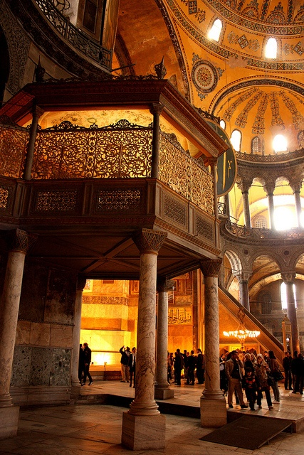 The famous Hagia Sophia in Istanbul, Turkey.