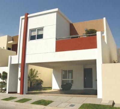 Decoracion y casa cocheras para casa arquitectura for Pintura exterior de casas