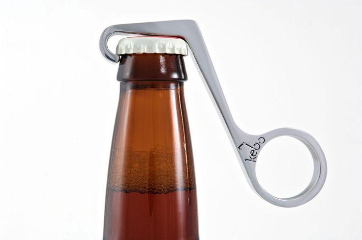 Kebo bottle opener: Bottle Cap, Onehand Bottle, Beer Bottle, Bottle Opener, Kebo Bottle, One Hands Bottle, Design, Bottleopen, Stainless Steel