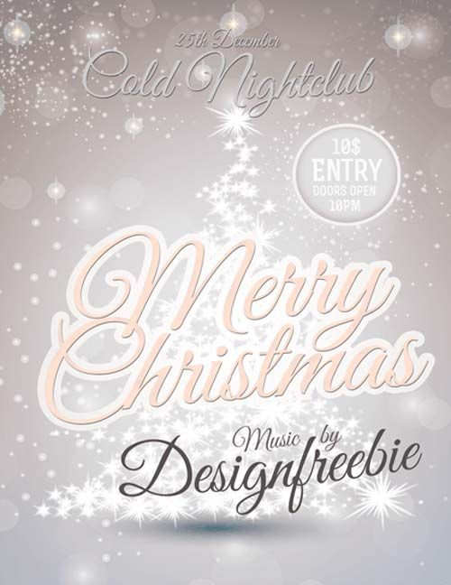 Snowy Christmas Party Free PSD Flyer Template - http://freepsdflyer.com/snowy-christmas-party-free-psd-flyer-template/ Enjoy downloading the Christmas Night Out Party Free PSD Flyer TemplateSnowy Christmas Party Free PSD Flyer Template created by Designfreebie!  #Celebration, #Christmas, #Club, #Dj, #Event, #Music, #Night, #Nightclub, #Party, #Winter, #Xmas