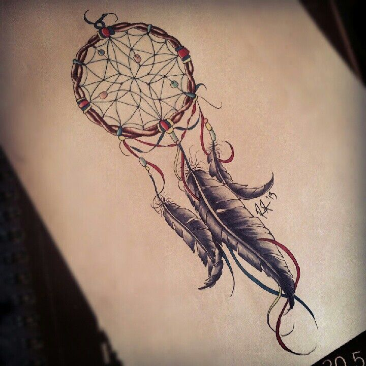 Dreamcatcher tattoo I really like this one!!
