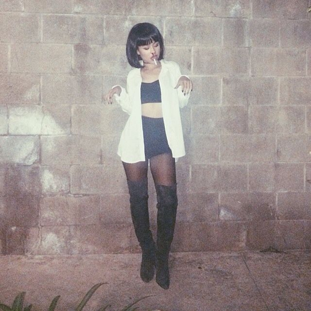 27 best images about halloween costume ideas on pinterest high waist skirt mia wallace - Deguisement pulp fiction ...