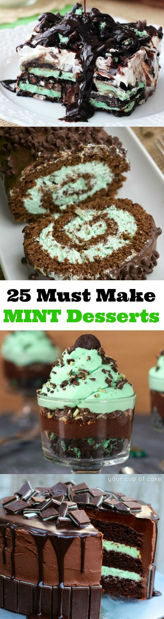 25 Insanely Delicious Mint Recipes!