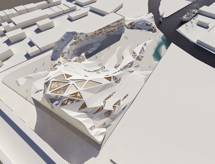 建築系必看的160個超細緻建築模型 | Foot Work|走思客