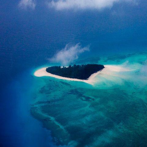 Heart Island - Mnemba Island Zanzibar Africa