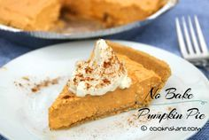 No Bake Pumpkin Cheesecake | Cook n' Share - World Cuisines