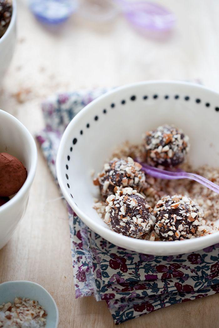 Chocolate energy balls » Dagmar's Kitchen