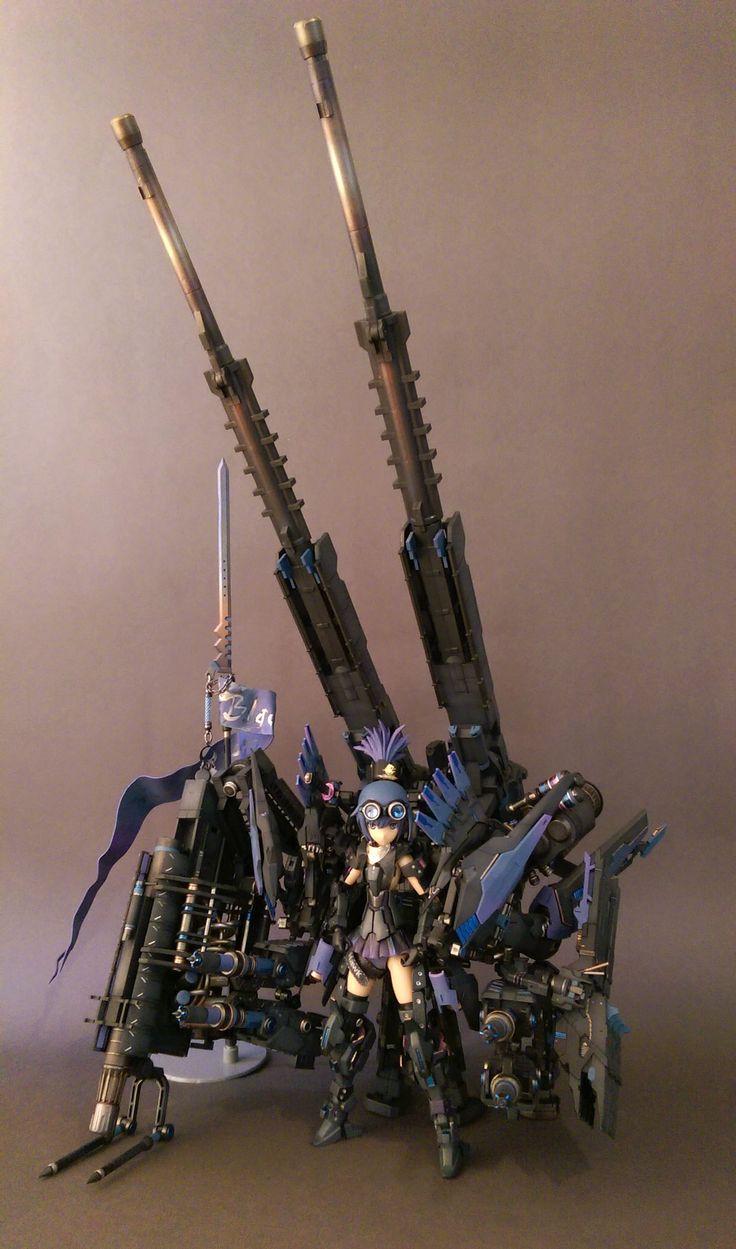 烏鶖-大卷尾式樣 Frame Arms Girl-Architect KOTOBUKYA
