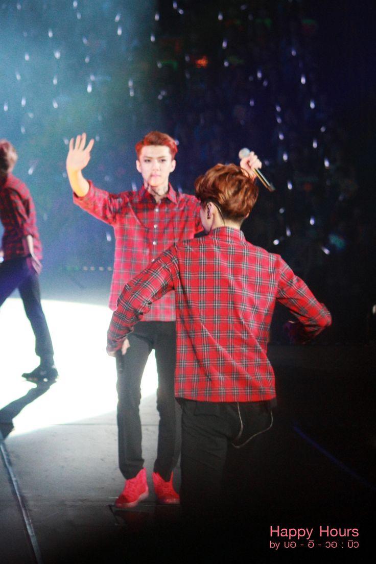 "140412 EXO Greeting Party in Japan ""Hello!"" - Sehun & Luhan #HunHan ♥"