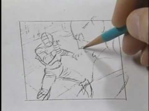 """I got the book from my dad """"How to draw comics in MARVEL way"""" - this is the video with examples from the book. by Stan Lee PART 10"""