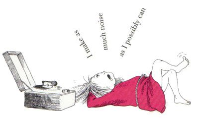 I make as much noise as I possibly can. #eloise, #childrensbooks, #books