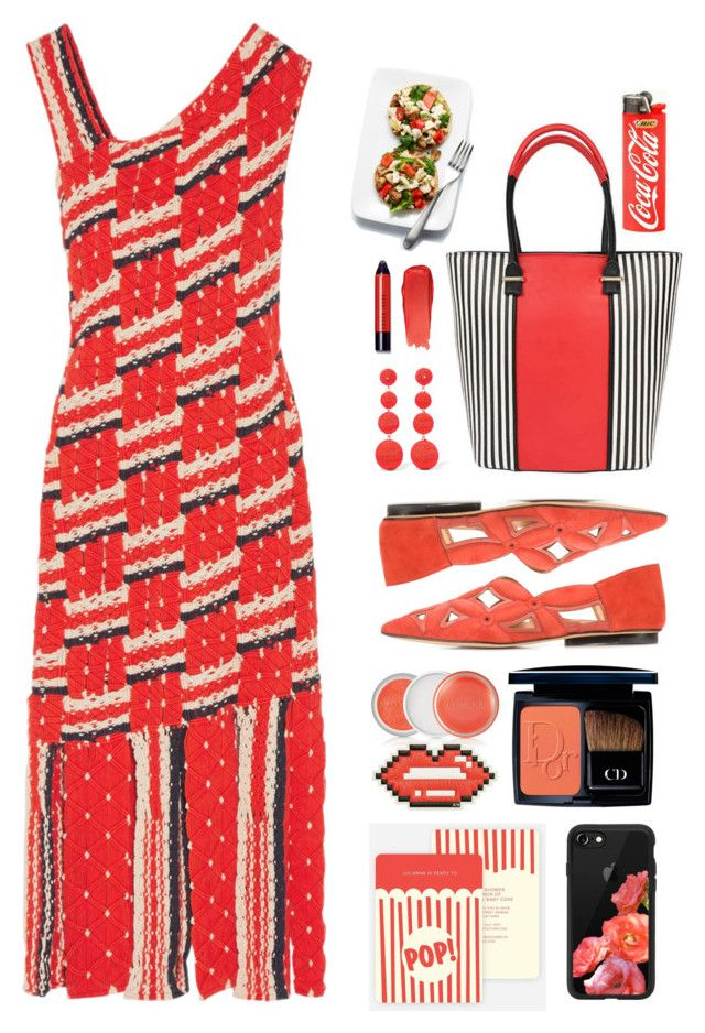 """""""10.07.17"""" by malenafashion27 ❤ liked on Polyvore featuring Tabula Rasa, Pia Rossini, Christian Dior, Clinique, Derek Lam, Anya Hindmarch, Kenneth Jay Lane, Casetify and Bobbi Brown Cosmetics"""
