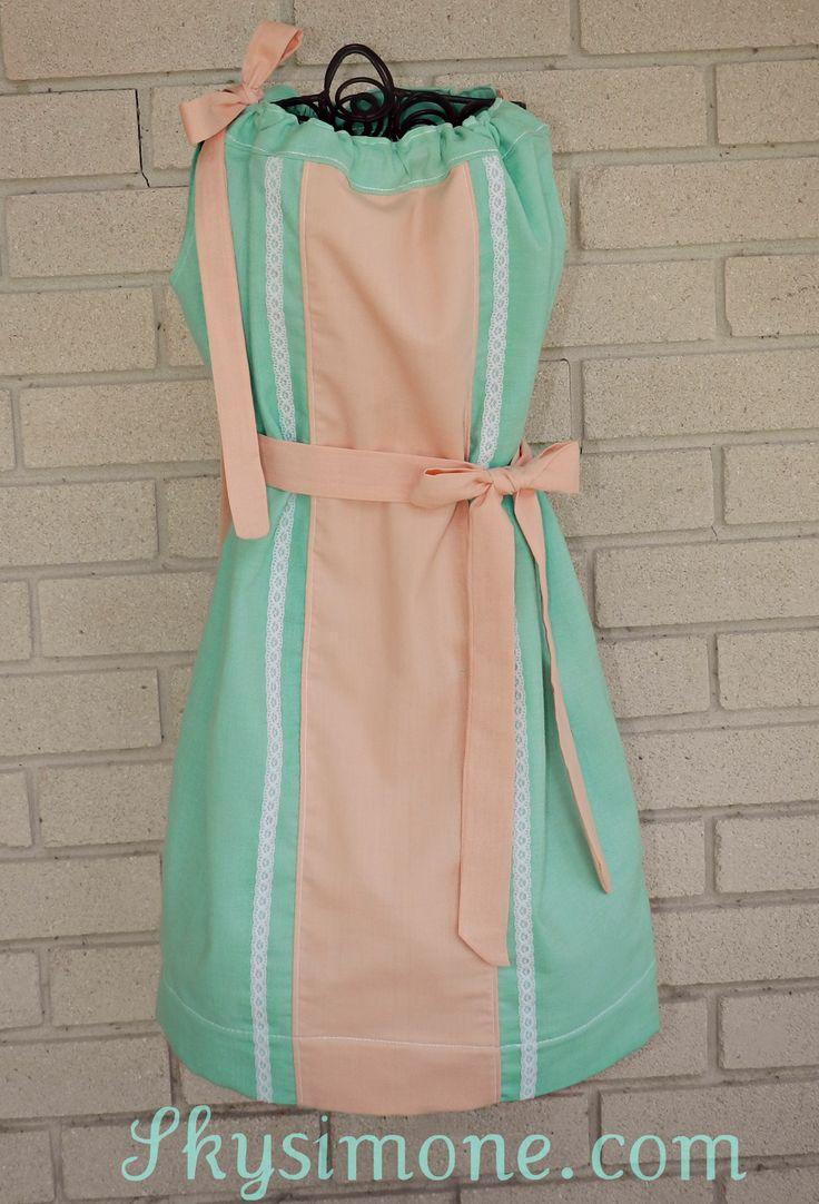 Linen Lace Pillowcase Dress from #Skysimone & 96 best vestidos images on Pinterest | Girls dresses Pillow case ... pillowsntoast.com