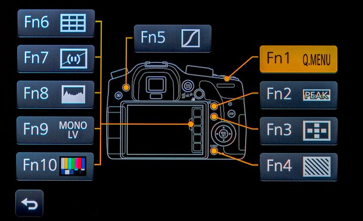 configure gh4 for video - Video Production Function Button Layout