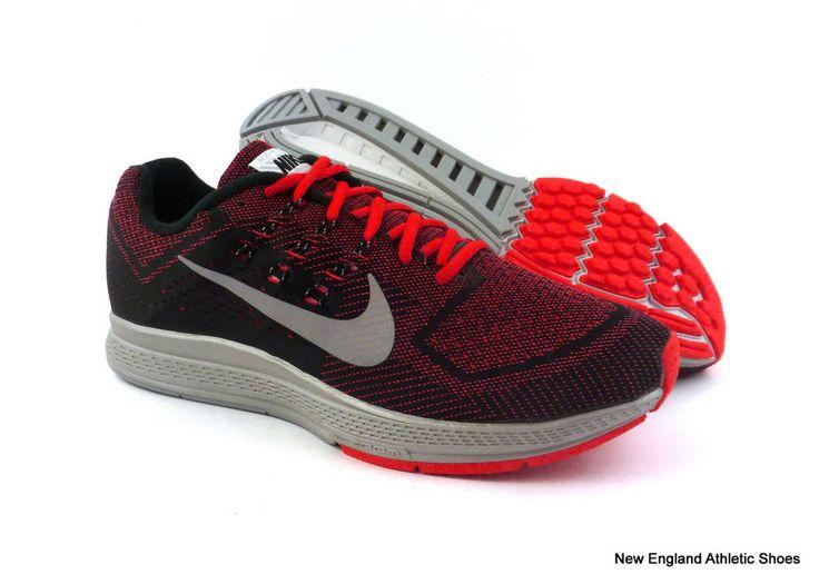 Nike men Zoom Structure 18 Flash running shoes - Action Red / Silver / Black #Nike #RunningCrossTraining